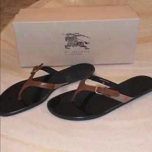 Authentic Burberry Sandals/Flip-Flops!
